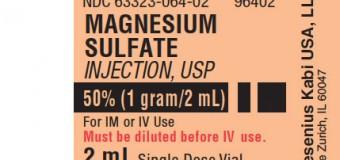 Magnesium sulfat sebagai terapi pada asma akut berat (asma mengancam jiwa)